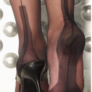 Fully Fashioned Stockings - Cuban Heel