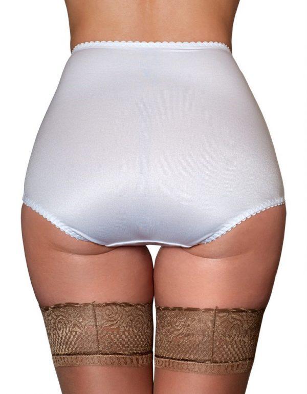 Panty Girdle Shaping Knickers Full Knickers Kardashian White Rear NDPNTYG Nylon Dreams