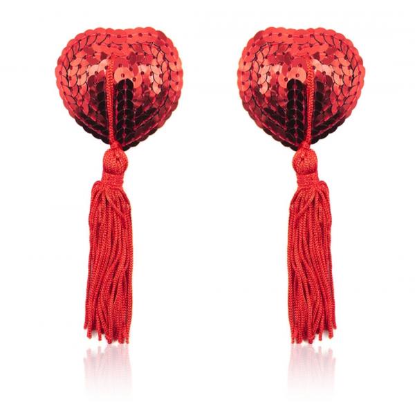 Red Nipple Tassels Burlesque Clothes Retro Rosie RRNT01